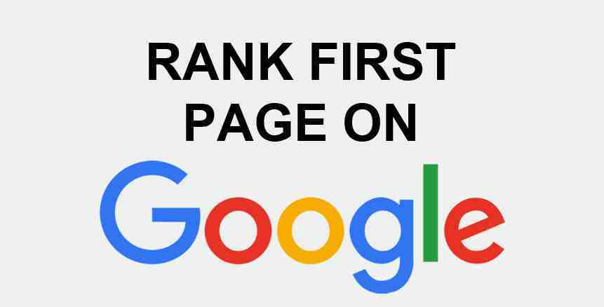 How to Rank Your Website on First Page in Google?